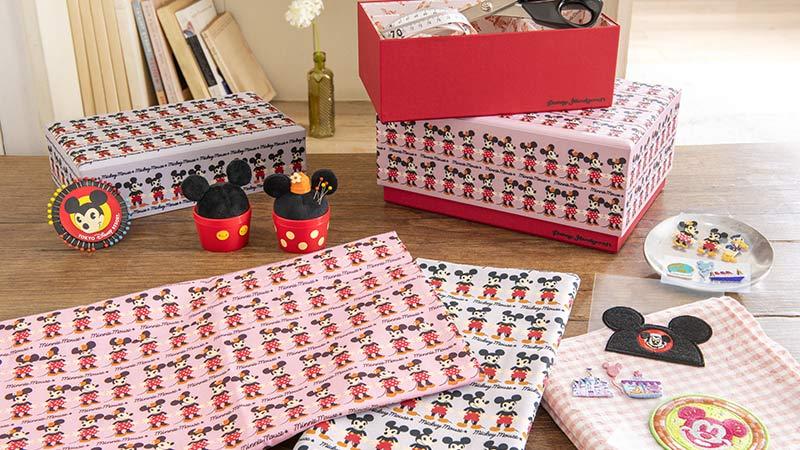 """おうち時間にハンドメイドを楽しもう! 自分らしさを表現できる""""Disney Handycraft""""のイメージ"""