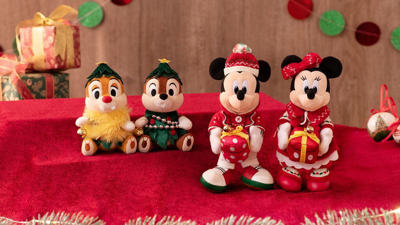 大切な人と過ごすファンタジックなクリスマス </br>東京ディズニーランドのクリスマスグッズのイメージ