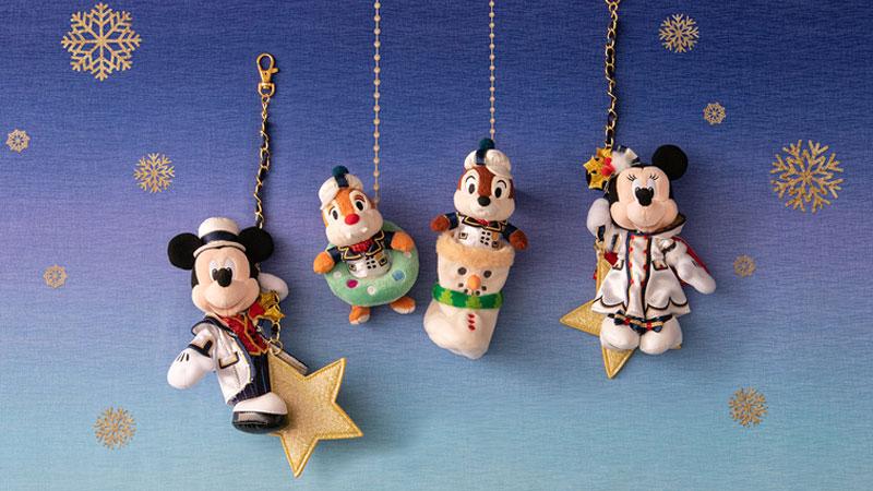 クリスマスらしい幸福感を感じられるひととき</br> 東京ディズニーシーのクリスマスグッズのイメージ