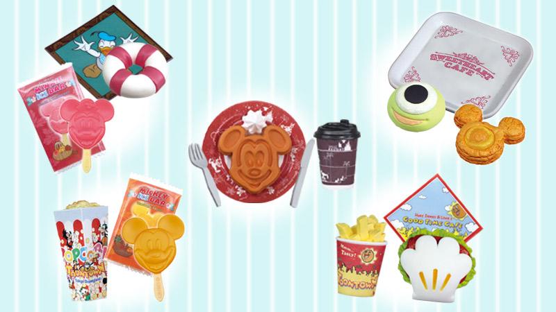 かわいいからって、食べちゃダメ♡  <br>パークでおなじみメニューのデザイングッズ!のイメージ