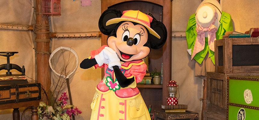 gambar Mickey & Friends' Greeting Trails (Minnie Mouse)1
