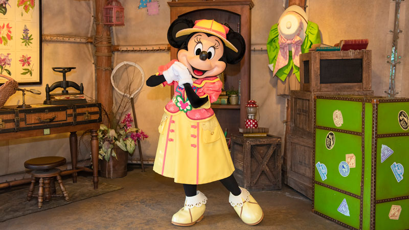 gambar Mickey & Friends' Greeting Trails (Minnie Mouse)