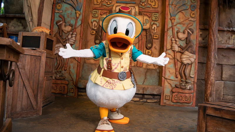 gambar Mickey & Friends' Greeting Trails (Donald Duck)