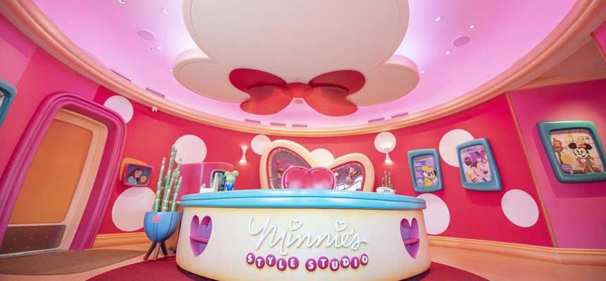 公式】ミニーのスタイルスタジオ|東京ディズニーランド|東京ディズニーリゾート