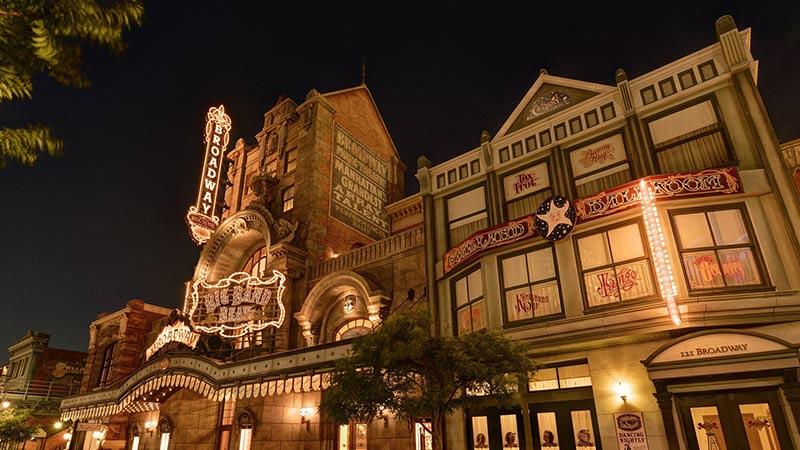 百老汇音乐剧场(迪士尼明星迎宾会)的图像