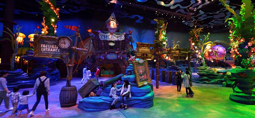 image of Mermaid Lagoon Theater (Disney Character Greeting)1