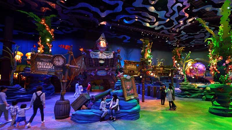 美人鱼礁湖剧场(迪士尼明星迎宾会)的图像