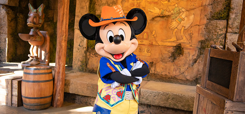 gambar Mickey & Friends' Greeting Trails (Mickey Mouse)1
