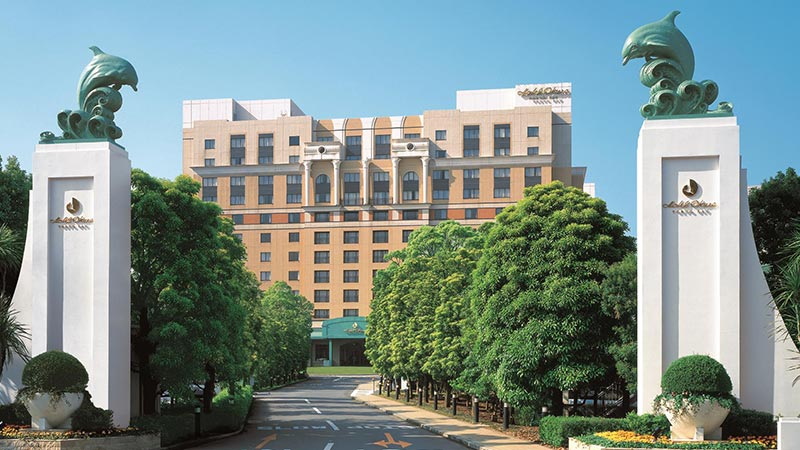 東京灣大倉飯店的圖像
