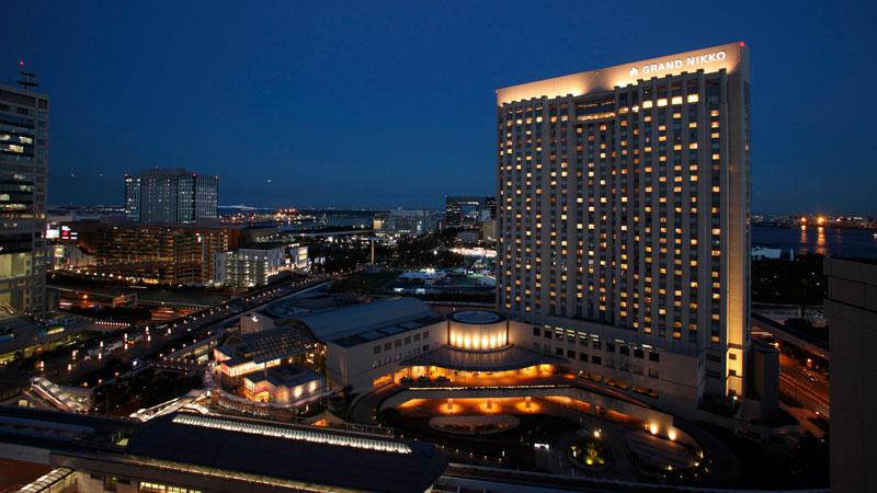 東京台場日航大酒店的圖像