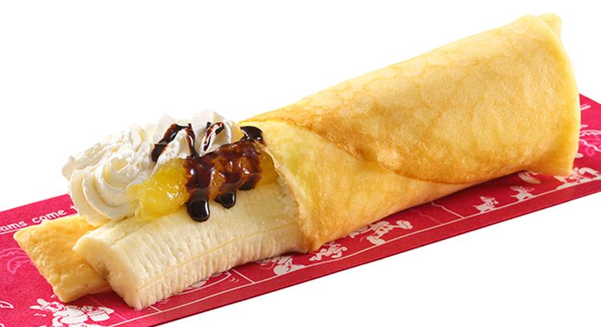 バナナチョコレートクレープのイメージ