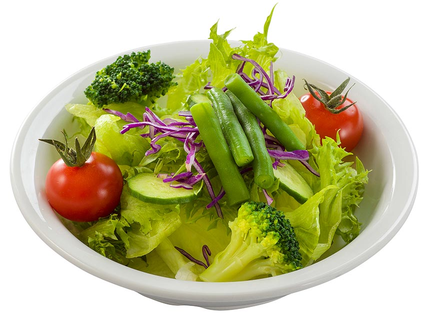 ガーデンサラダ、レモンドレッシングのイメージ