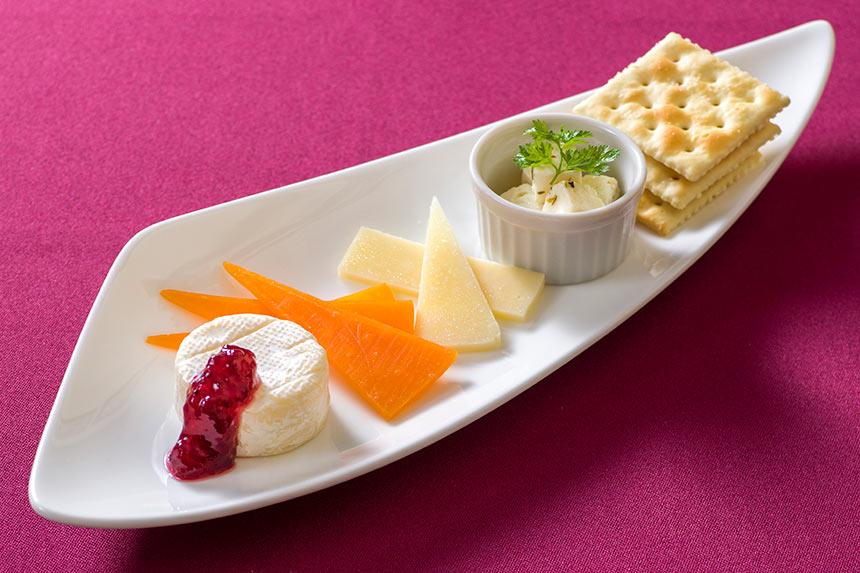 チーズの盛り合わせのイメージ