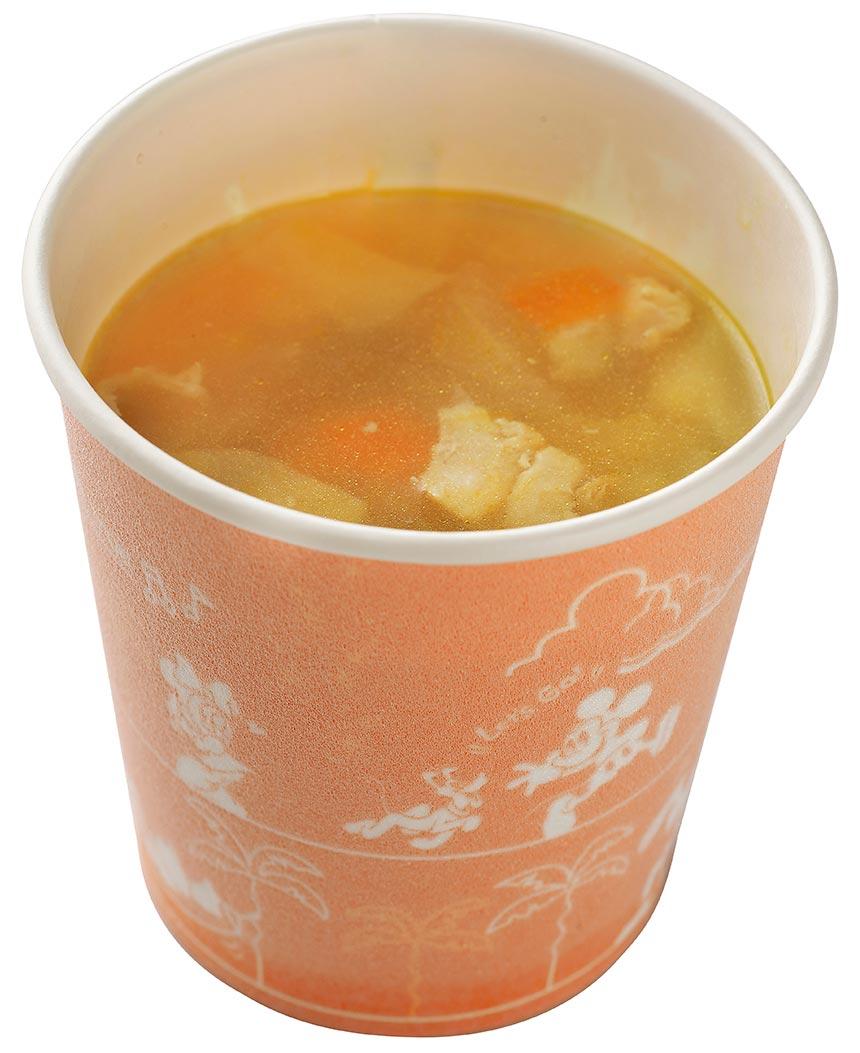 チキンとベジタブルのスープのイメージ