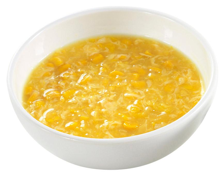 中華風コーンスープのイメージ