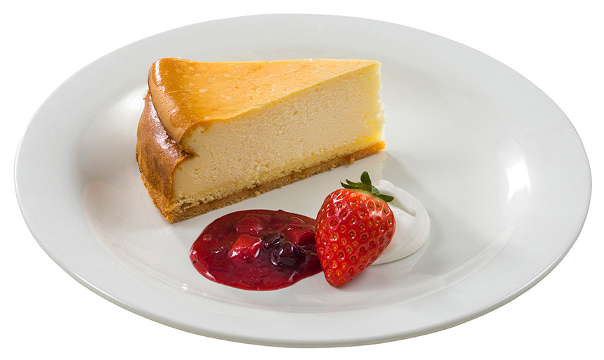 ベイクドチーズケーキのイメージ