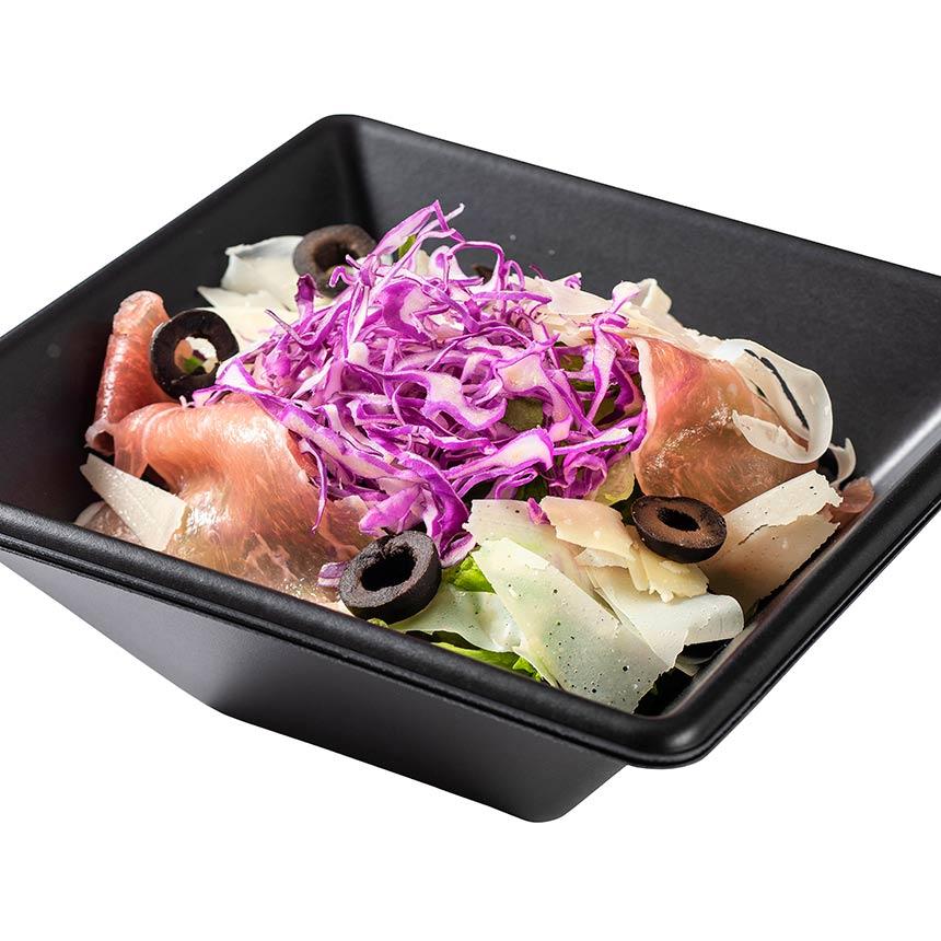 生ハムのサラダのイメージ