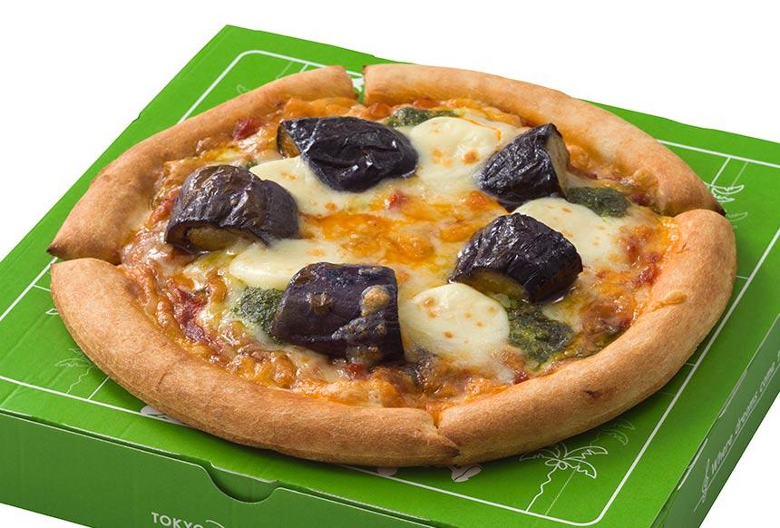 ダブルチーズのラタトゥイユピッツァのイメージ