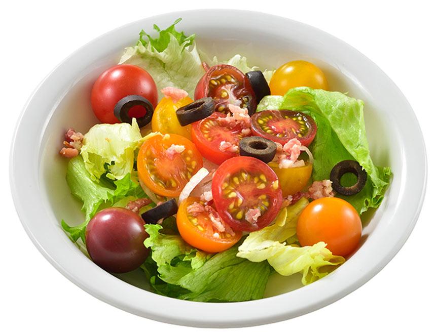 ミニトマトのサラダのイメージ