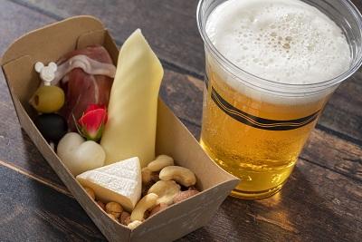 オードブルボックス&生ビールセットのイメージ