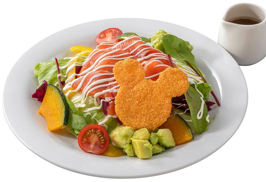 スモークサーモントラウトとアボカドのサラダ 이미지