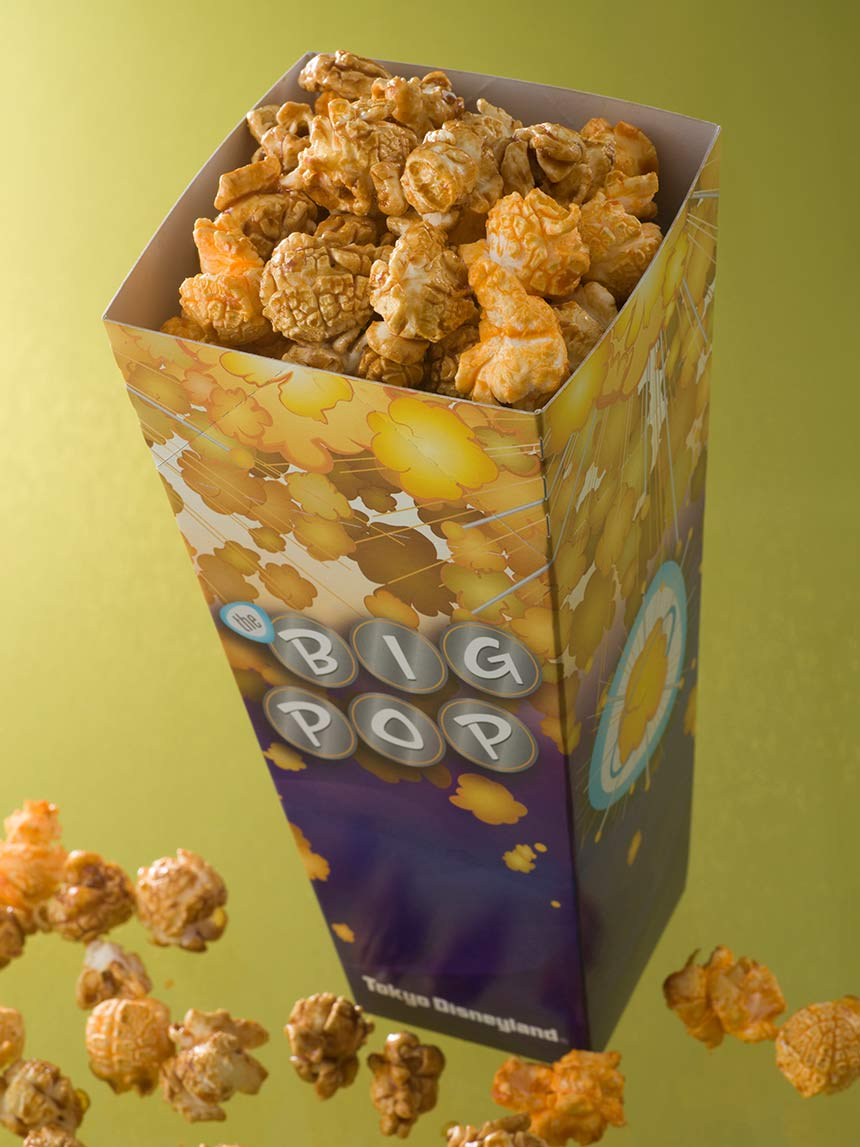 BBポップコーン キャラメル&チーズポップコーンのイメージ