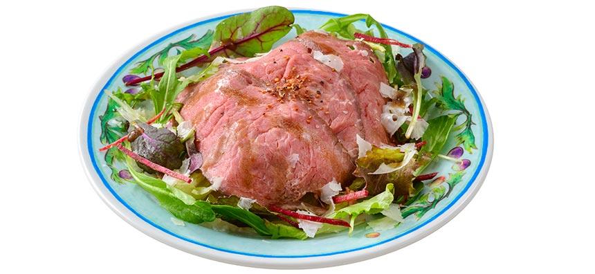 ローストビーフのサラダのイメージ