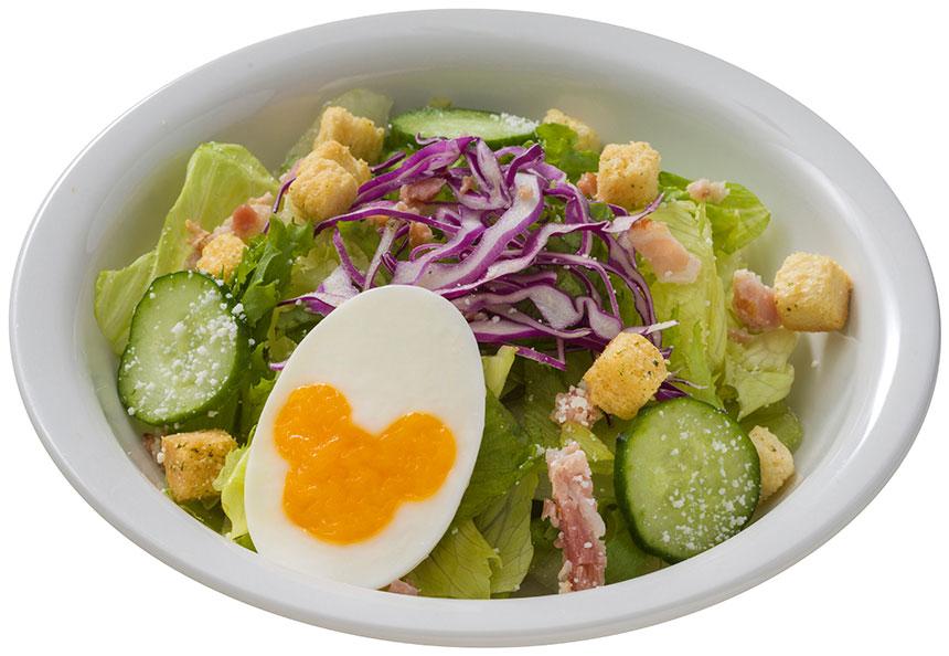 シーザードレッシングのサラダのイメージ