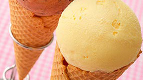 アイスクリームコーンのメニューイメージ