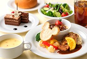 Horizon Bay Restaurant Makan Bersama Tokoh Disneyのメニューイメージ