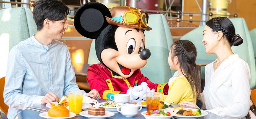ホライズンベイ・レストラン ディズニーキャラクターダイニングのイメージ1