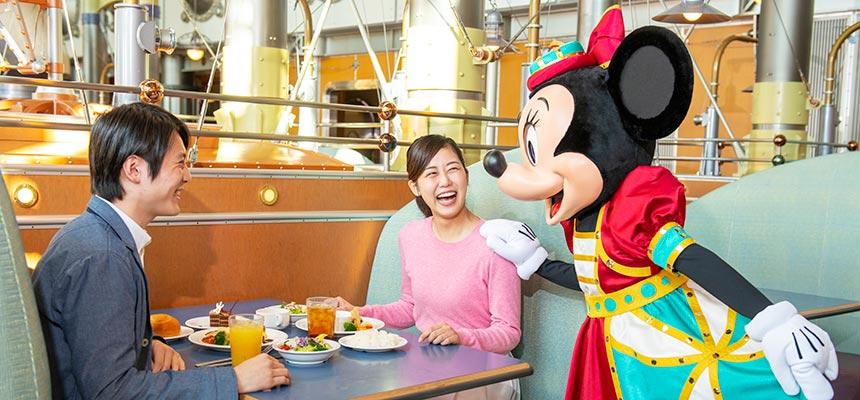 ホライズンベイ・レストラン ディズニーキャラクターダイニングのイメージ2