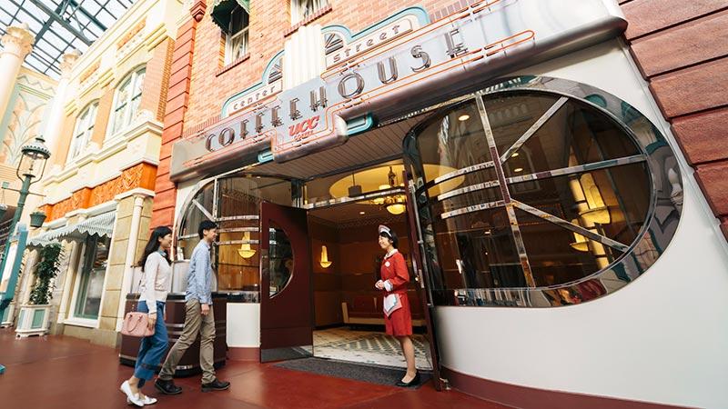 中央大道咖啡餐馆的图像