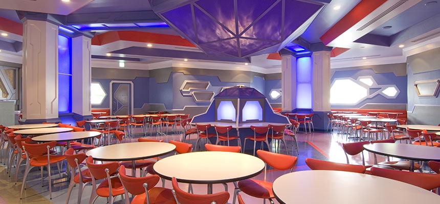 明日樂園舞台餐廳的圖像1