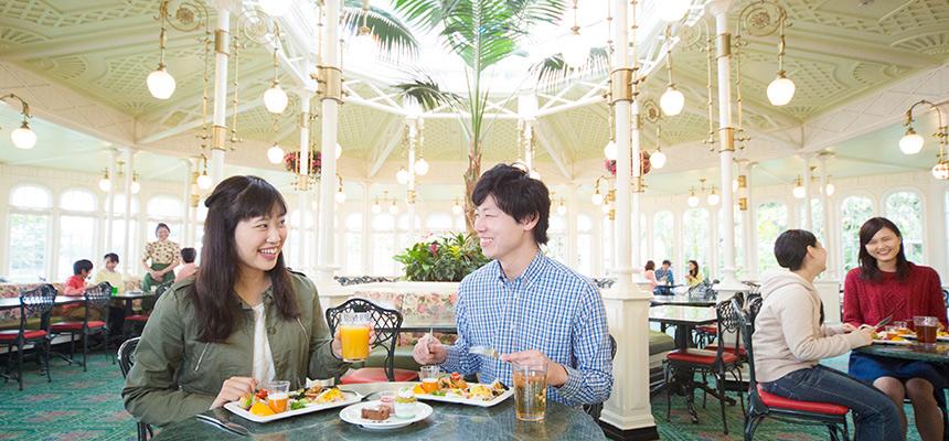 クリスタルパレス・レストラン ディズニーキャラクターブレックファストのイメージ1