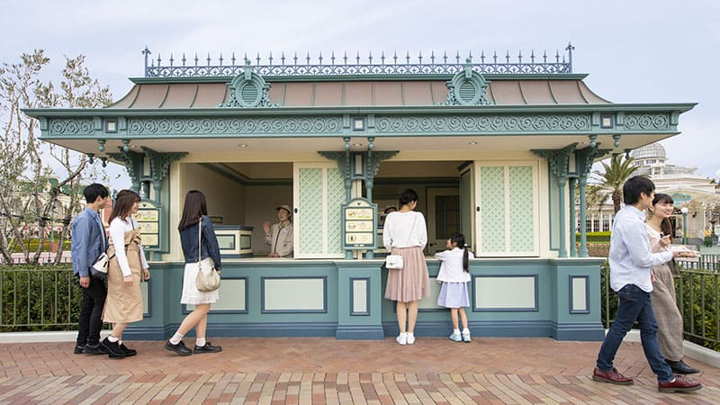 image of Food Booth (Adventureland side)