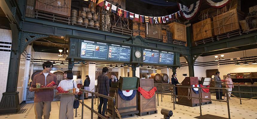 船坞边快餐馆的图像3