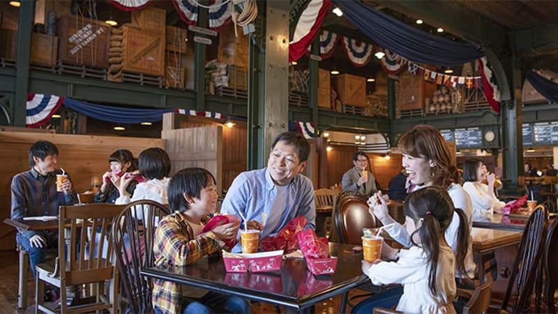 船塢邊快餐館的圖像