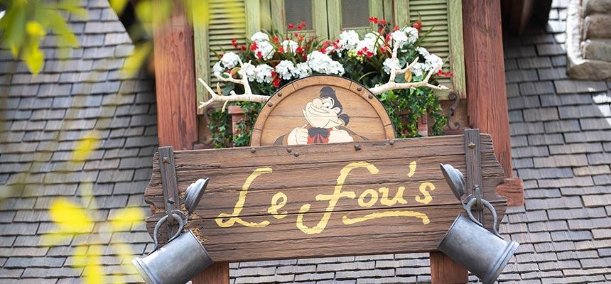 image of Opening on September 28 LeFou's1