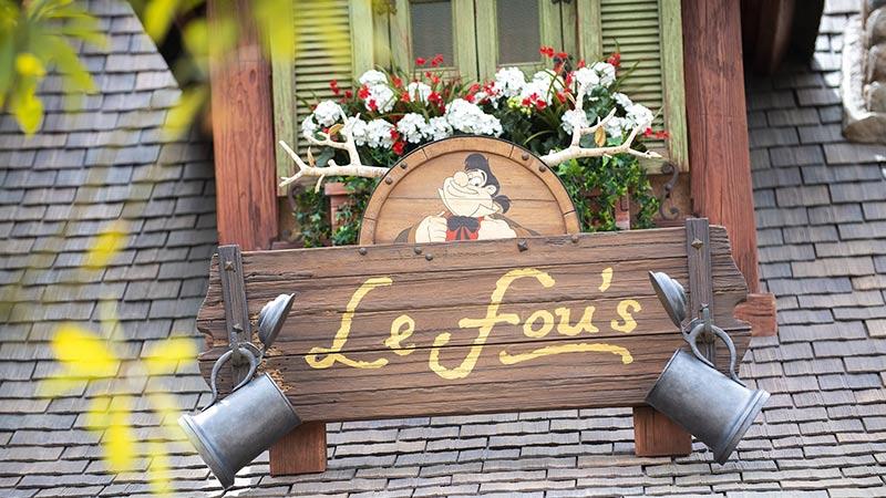 image of Opening on September 28 LeFou's