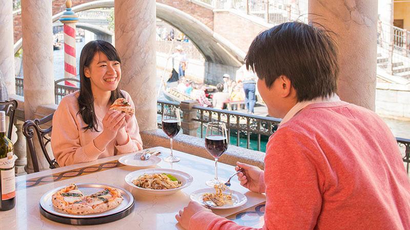 卡納雷托餐館的圖像