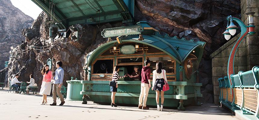 小吃站的圖像1