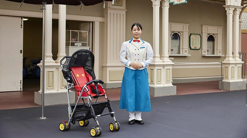 婴儿车&轮椅出租的图像