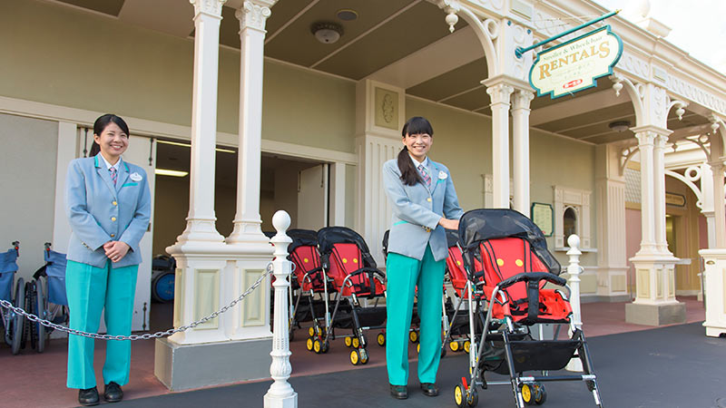 image of Stroller & Wheelchair Rentals