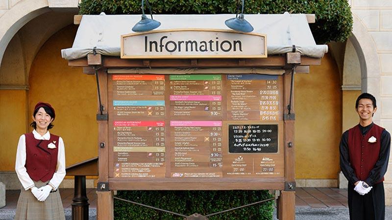 パークインフォメーションボードのイメージ