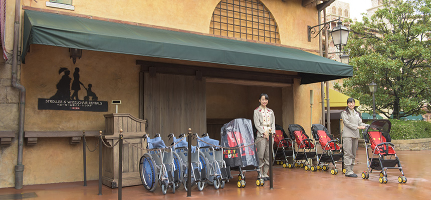 image of Stroller & Wheelchair Rentals1