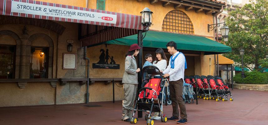 image of Stroller & Wheelchair Rentals2