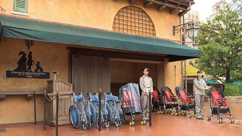유모차&휠체어 대여 이미지