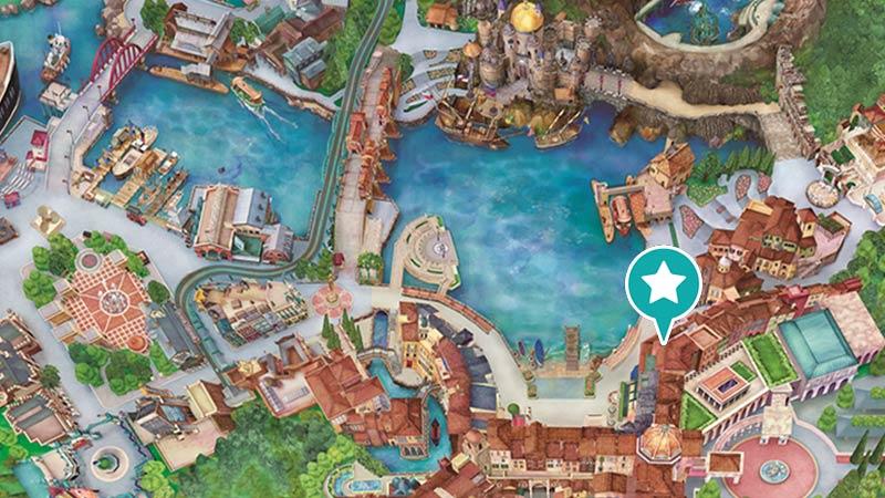 东京迪士尼海洋地图_[官方]中央救护室|东京迪士尼海洋|东京迪士尼度假区