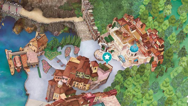 地図(集合場所)のイメージ